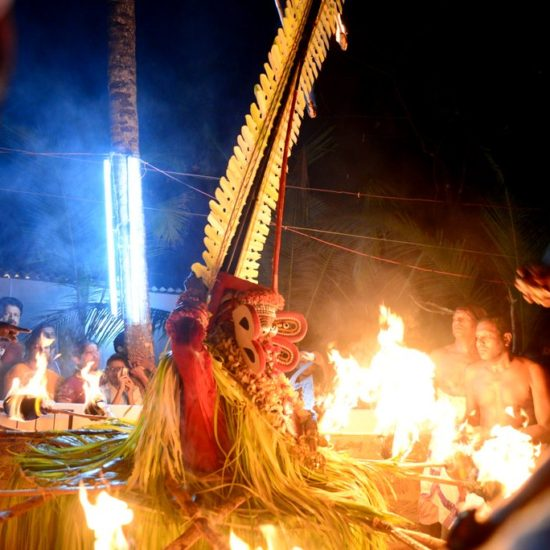 Fire Theyyam Tour Packages