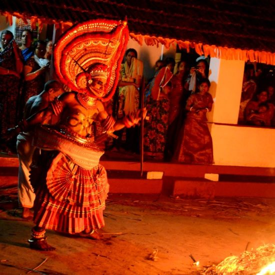 Theyyam ritual performances
