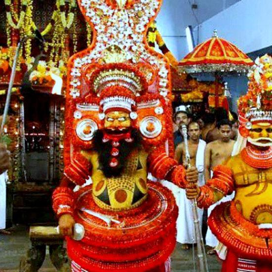 Parassinikadavu Muthappan Theyyam