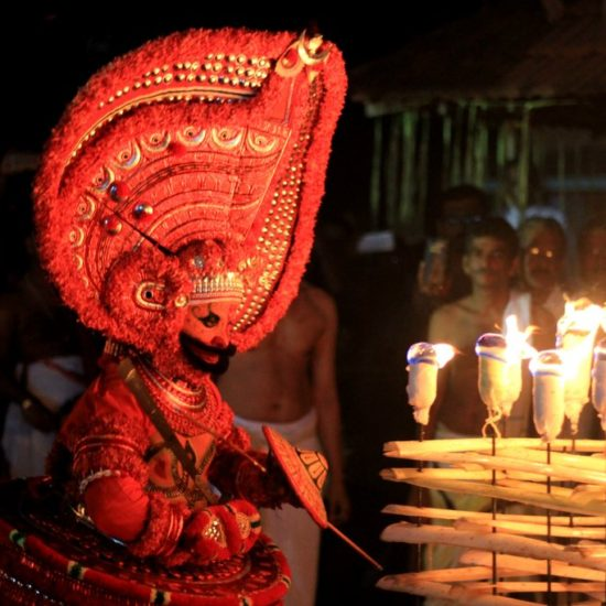 Theyyam Research Study Tour Kerala Folklore