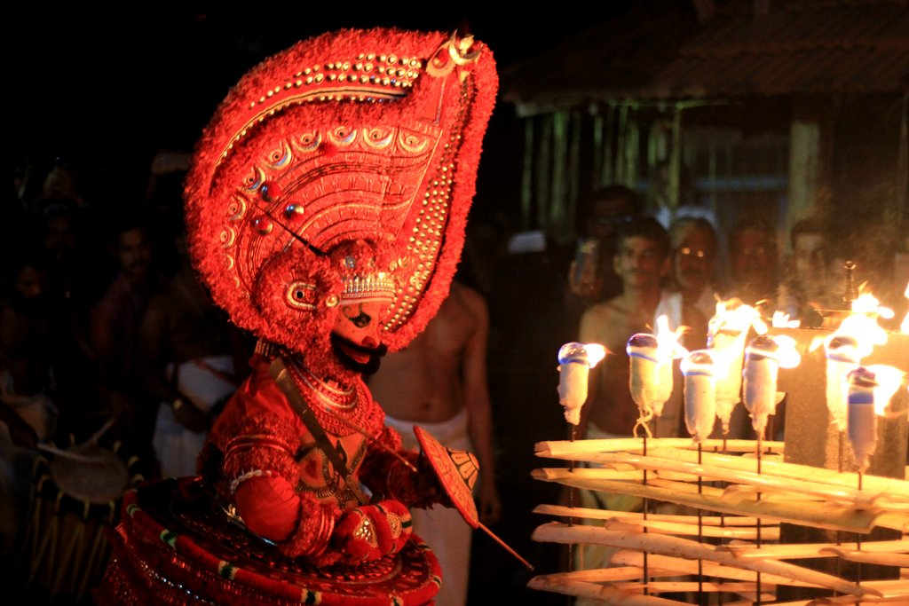 Theyyam Research Study Tour Kerala Folklore