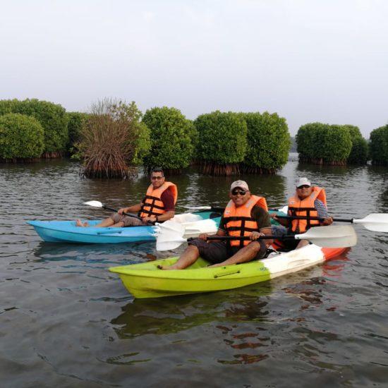 Kayaking Kavvayi Kannur Kasaragod